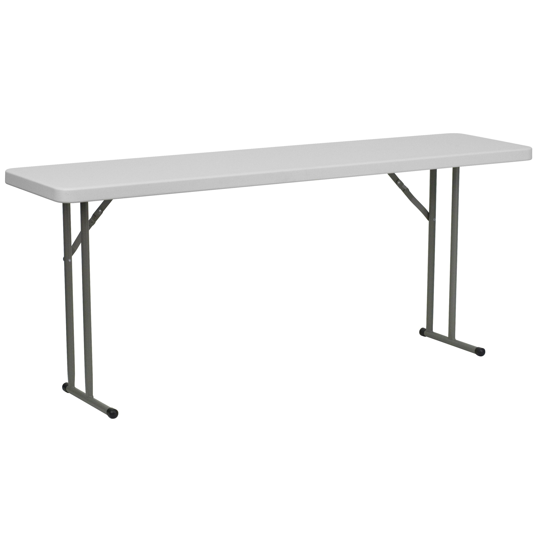 Shoppingideausa  Commercial Grade Folding Table 220 Lb. Static Load Capacity