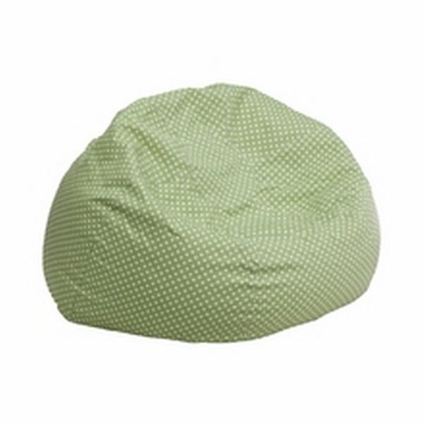 Green Fabric Kids Bean Bag
