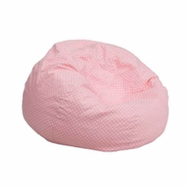 Pink Fabric Kids Bean Bag
