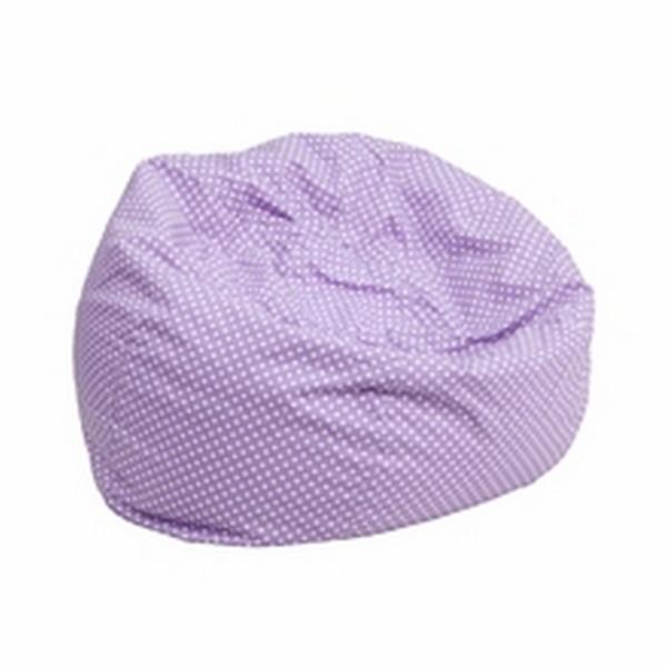 Purple Fabric Kids Bean Bag