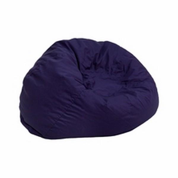 Blue Fabric Kids Bean Bag