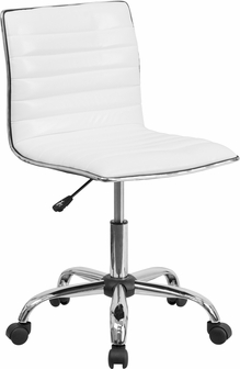 Shoppingideausa  Contemporary Leather Office Chair Mid-back Design