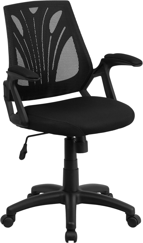 ShoppingIdeaUSA  Ergonomic Mesh Office Chair Mid-Back Design