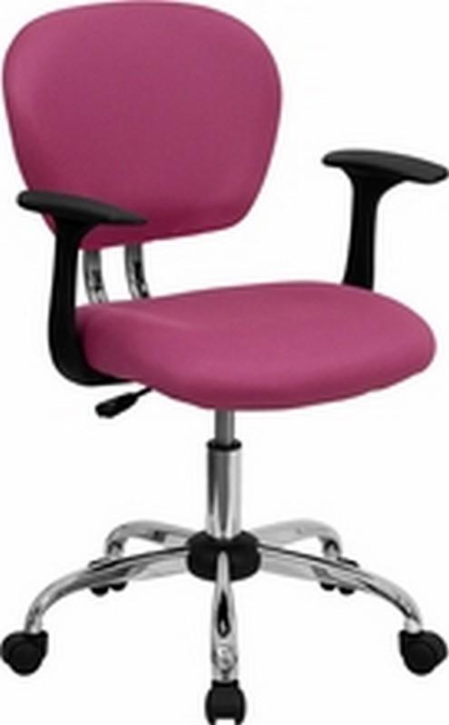 Pink Mesh Chair