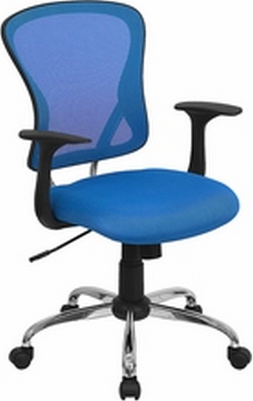 Blue Mesh Chair
