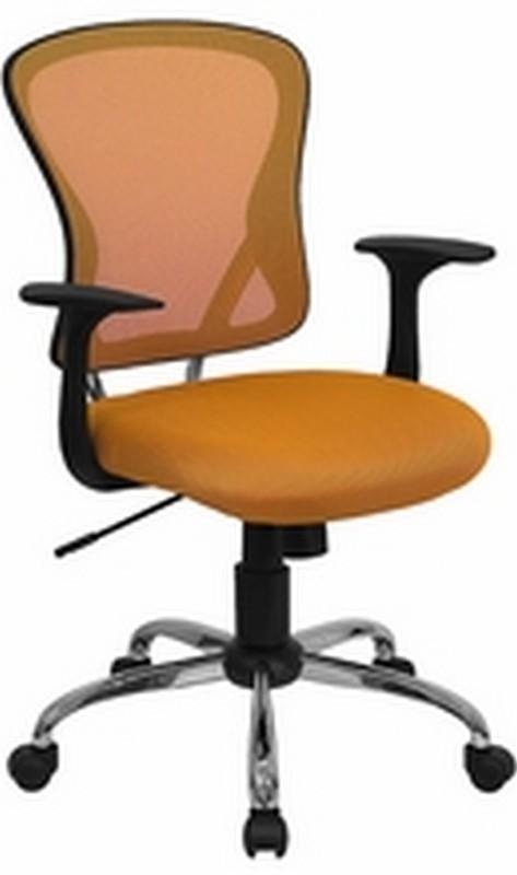 Orange Mesh Chair