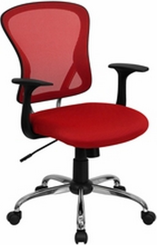 Red Mesh Chair