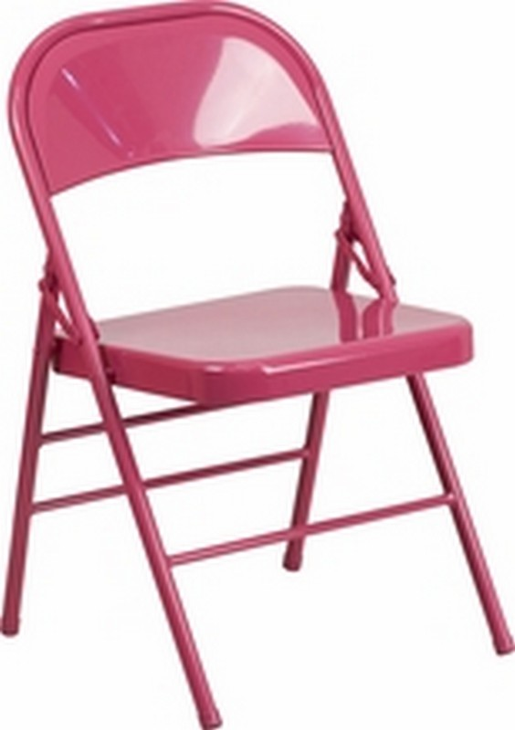 Fuchsia Folding Chair