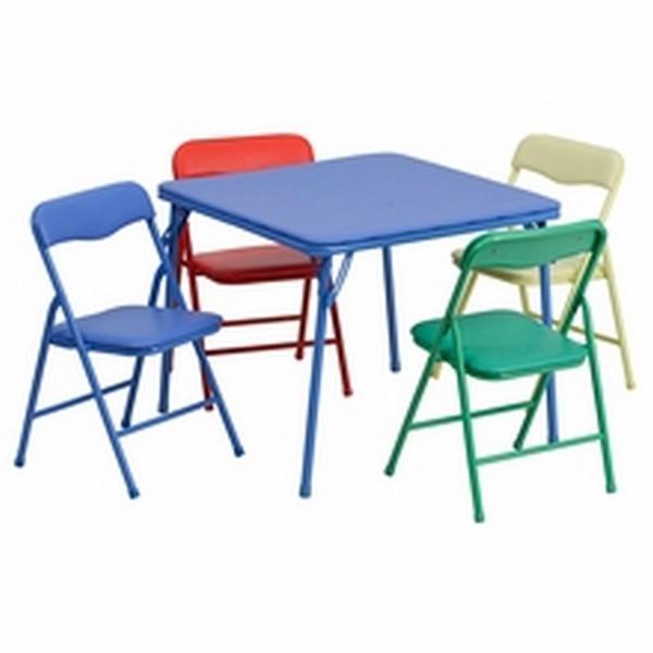 Colorful Folding Table Set