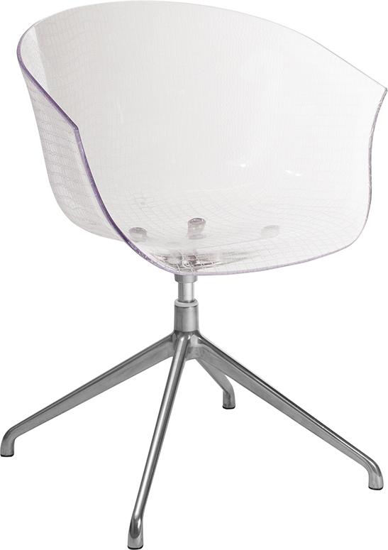 Clear Reception Chair