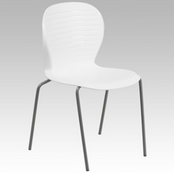 White Stack Chair
