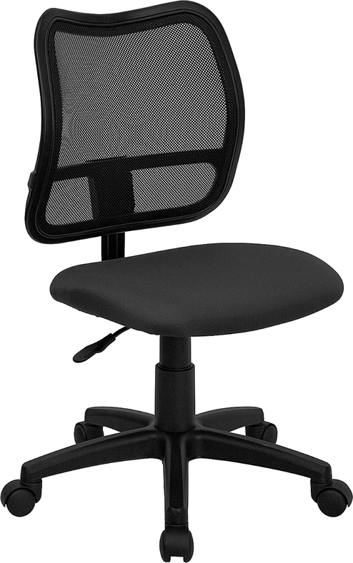 ShoppingIdeaUSA  Mid-Back Task Swivel Chair Made in Taiwan