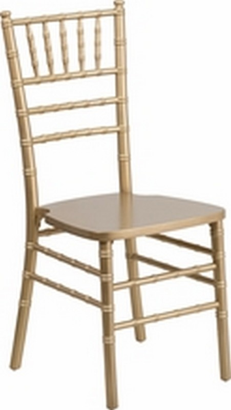 Gold Wood Chiavari Chair
