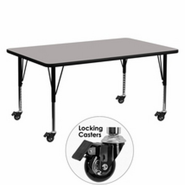 Gray Preschool Activity Table