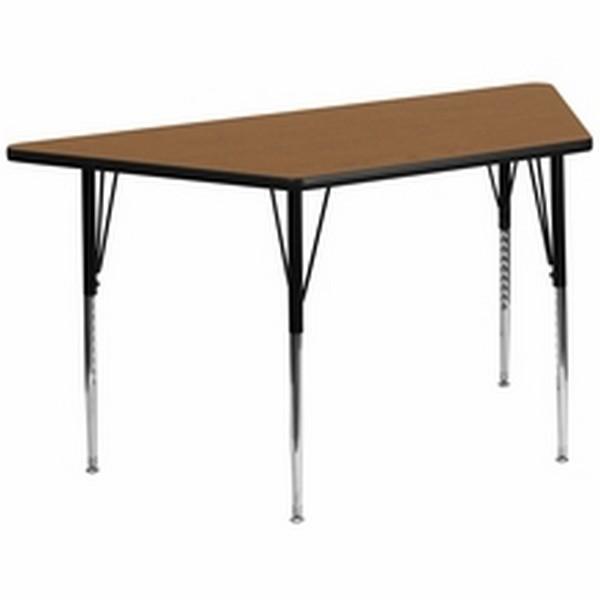 Oak Trapezoid Activity Table