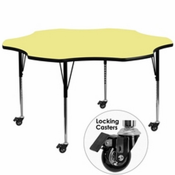 Yellow Flower Activity Table