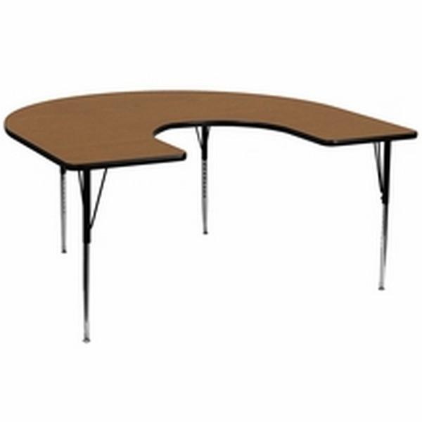Oak Horsehoe Activity Table