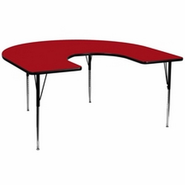 Red Horsehoe Activity Table