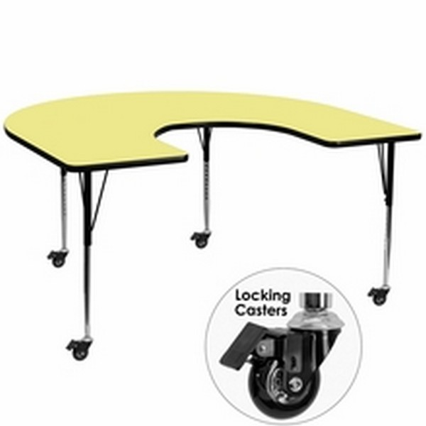 Yellow Horsehoe Activity Table
