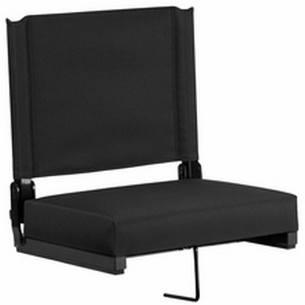 Black Stadium Chair