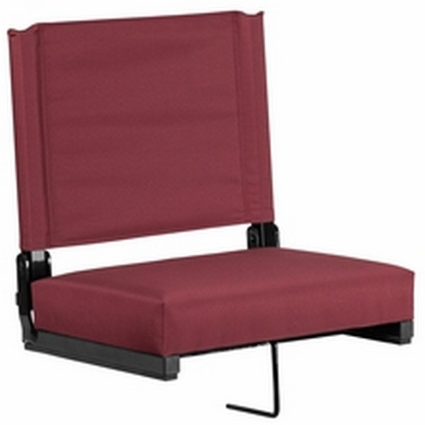Maroon Stadium Chair
