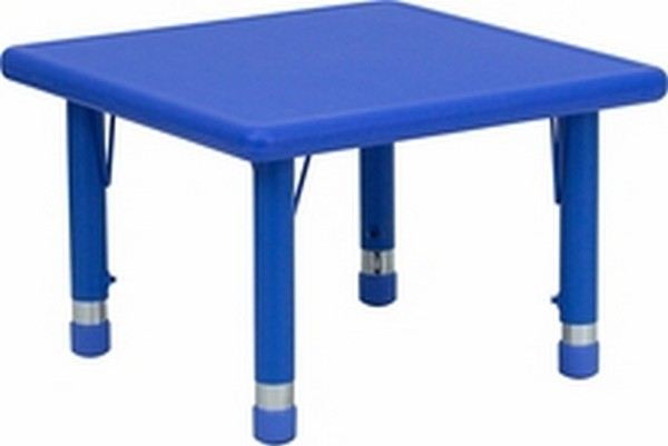Blue Preschool Activity Table