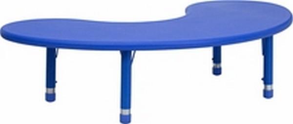Blue Preschool Activity Table