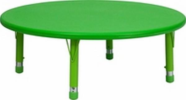 Green Preschool Activity Table