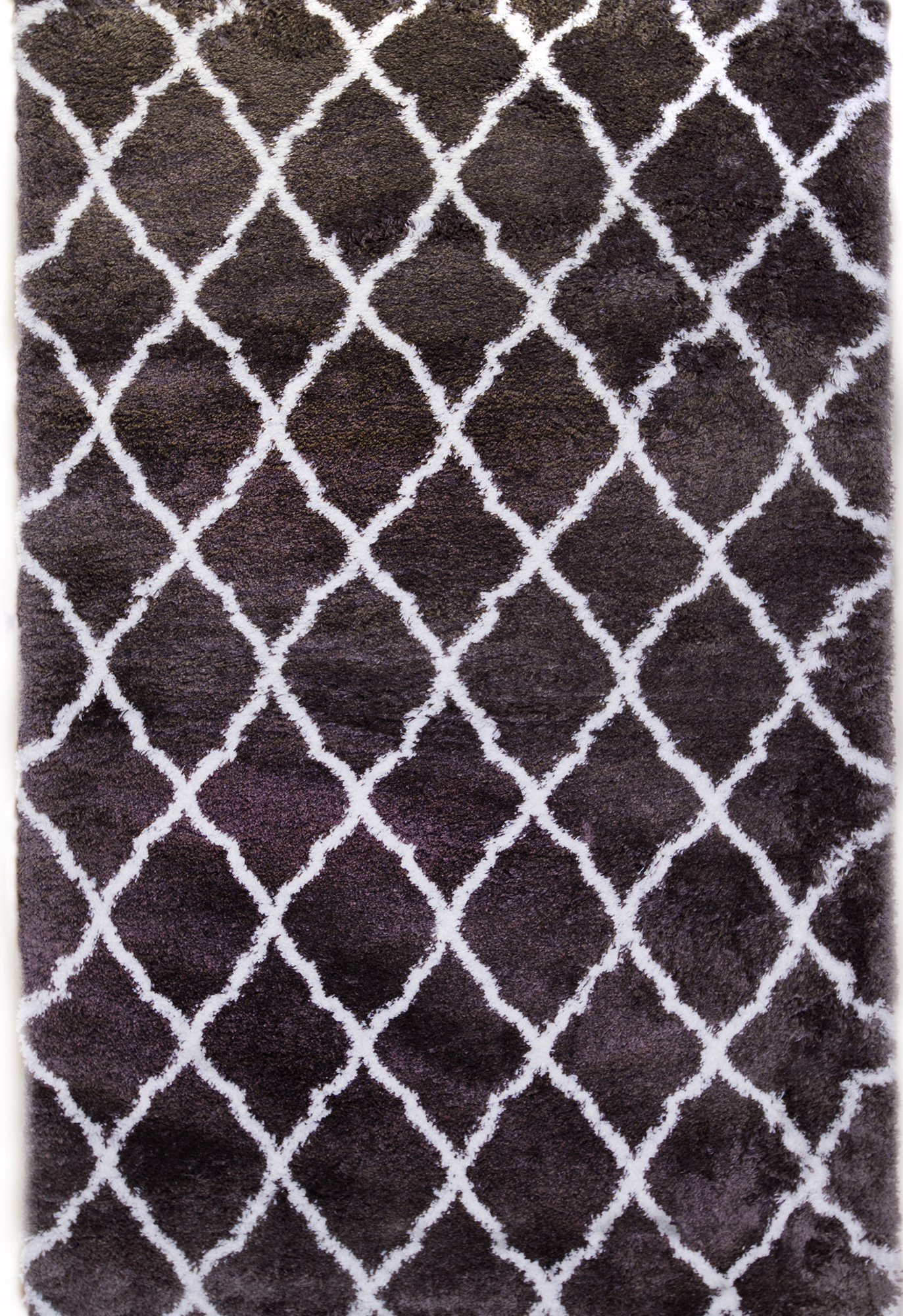 Carmela   Dark Gray  Ivory Area Rugs