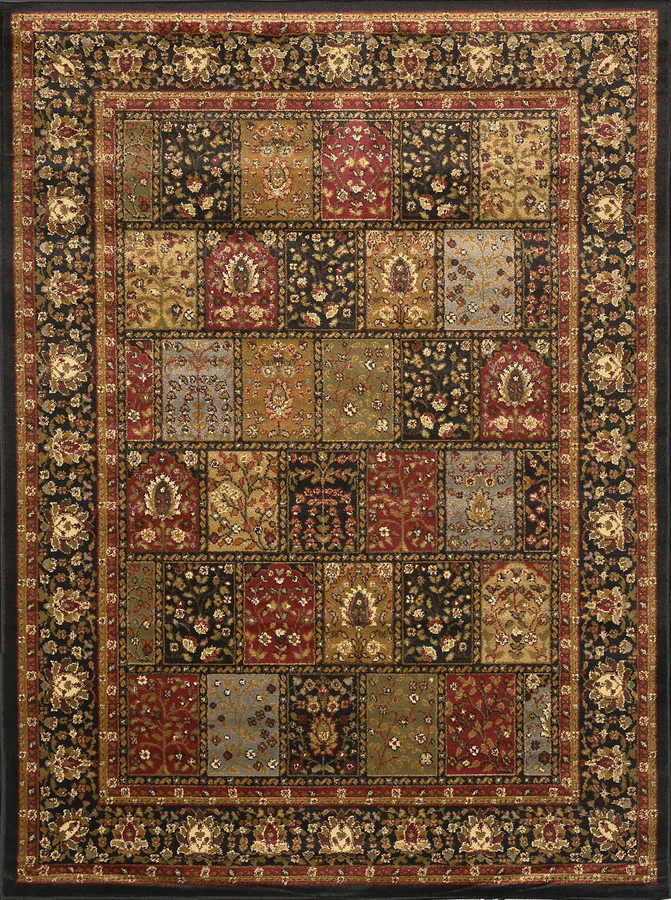Royalty Rug-machine Woven Black Mc Area Rugs