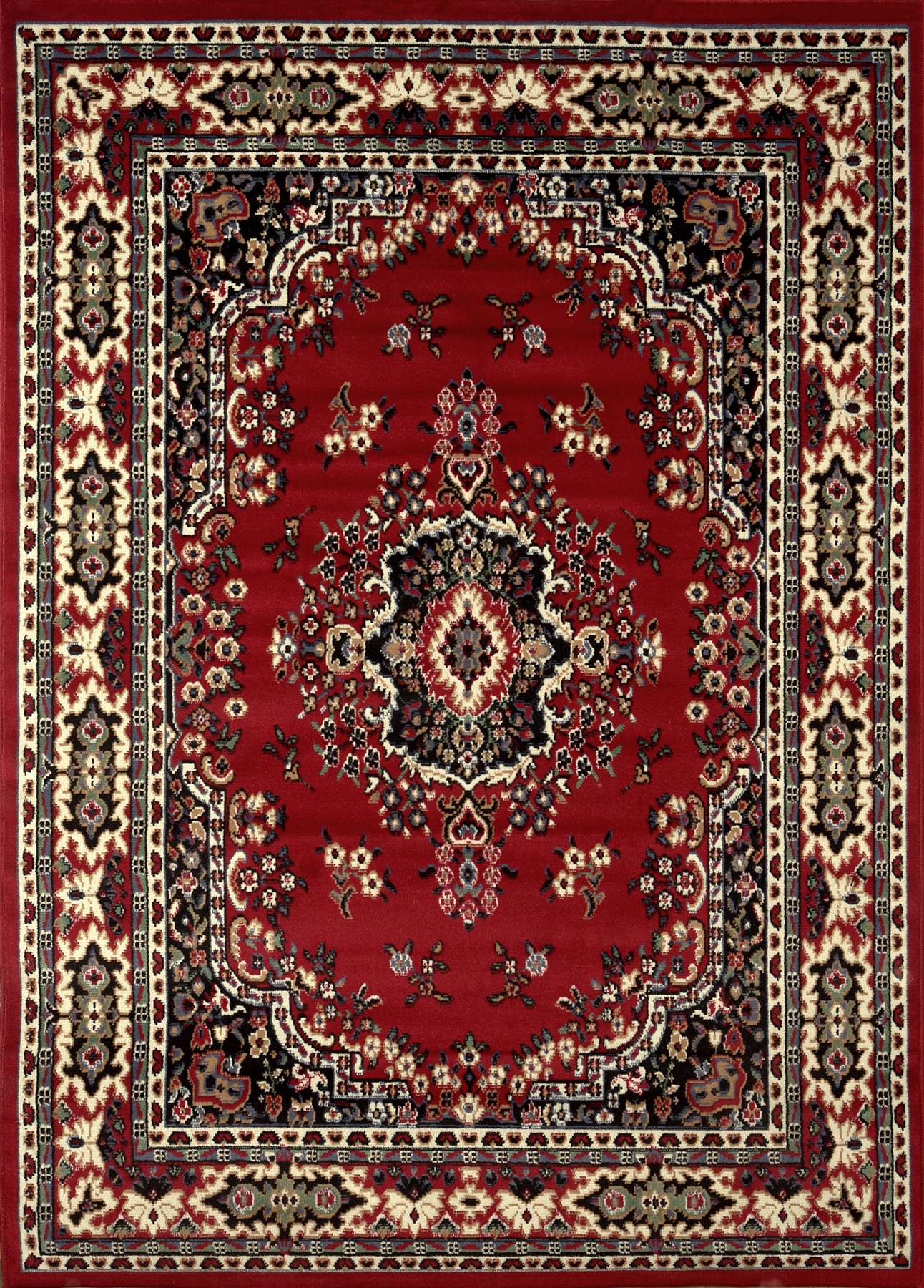 Premium Rug Machine Woven  Claret Area Rugs