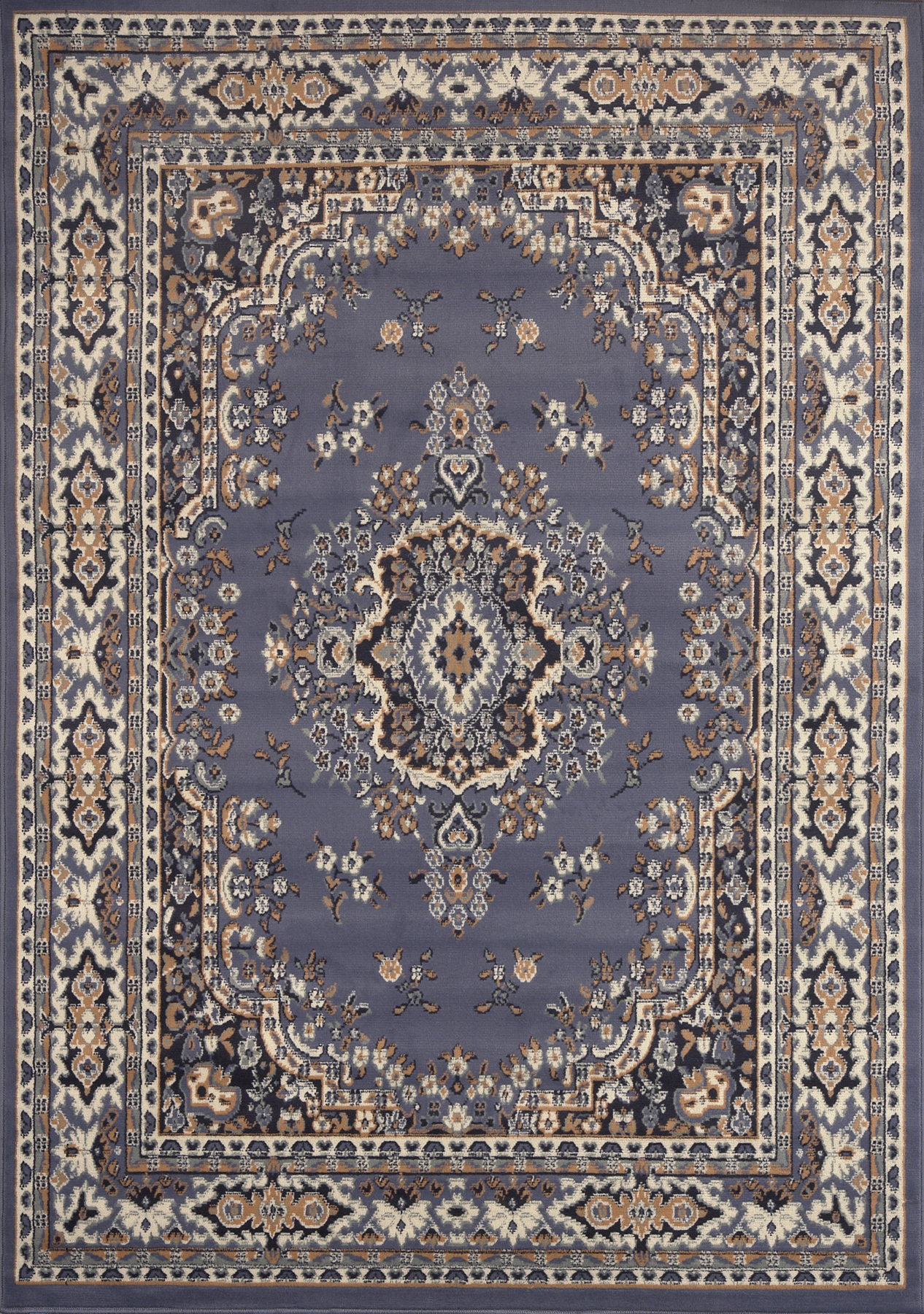 Ariana Country Blue Area Rugs