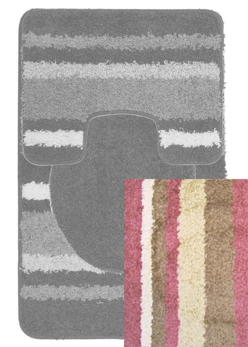 Avalon Mat Mat Machine Tufted  Rose Beige Area Rugs