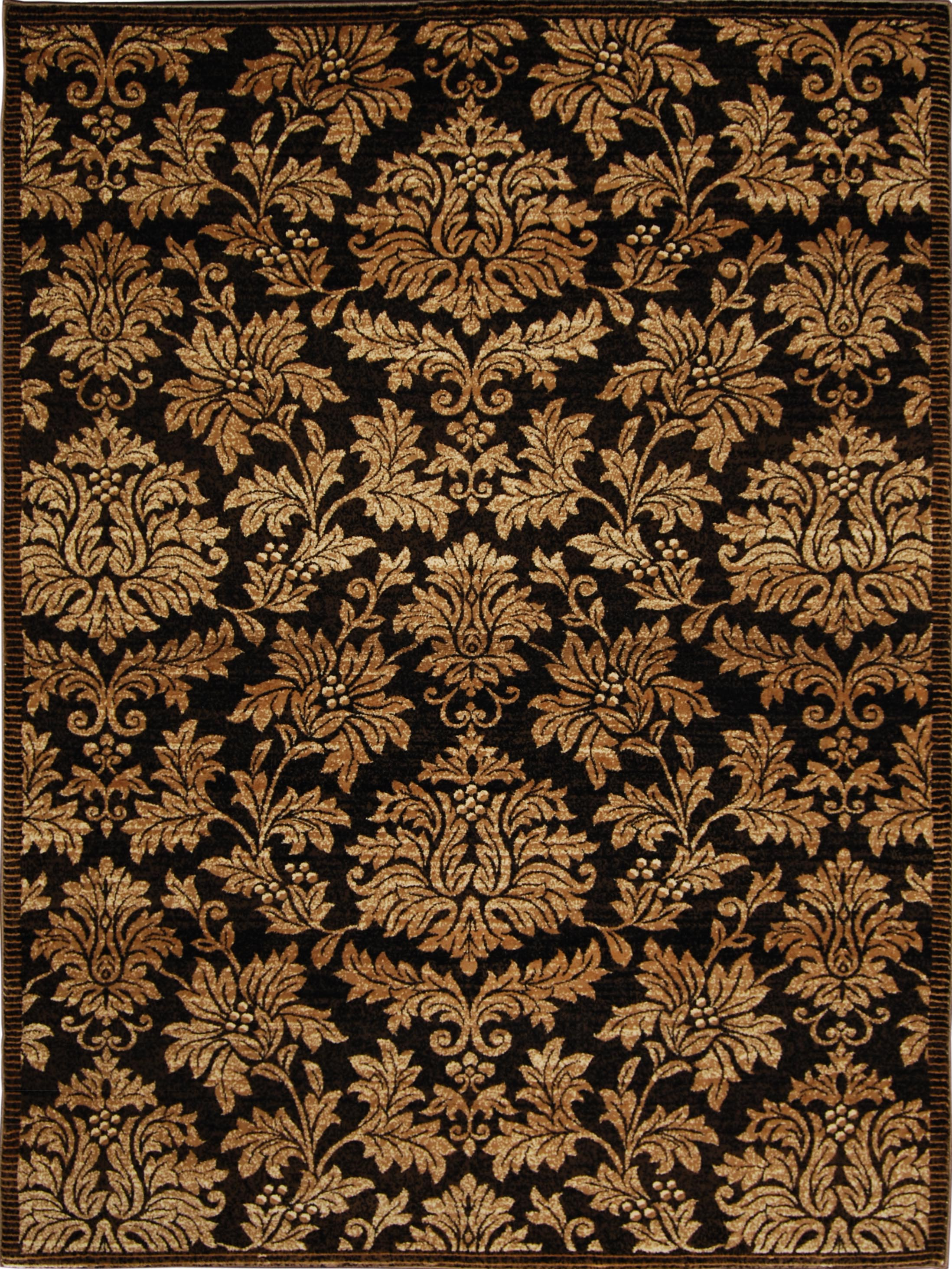 Triumph Rug-machine Woven  Brown-gold Area Rugs