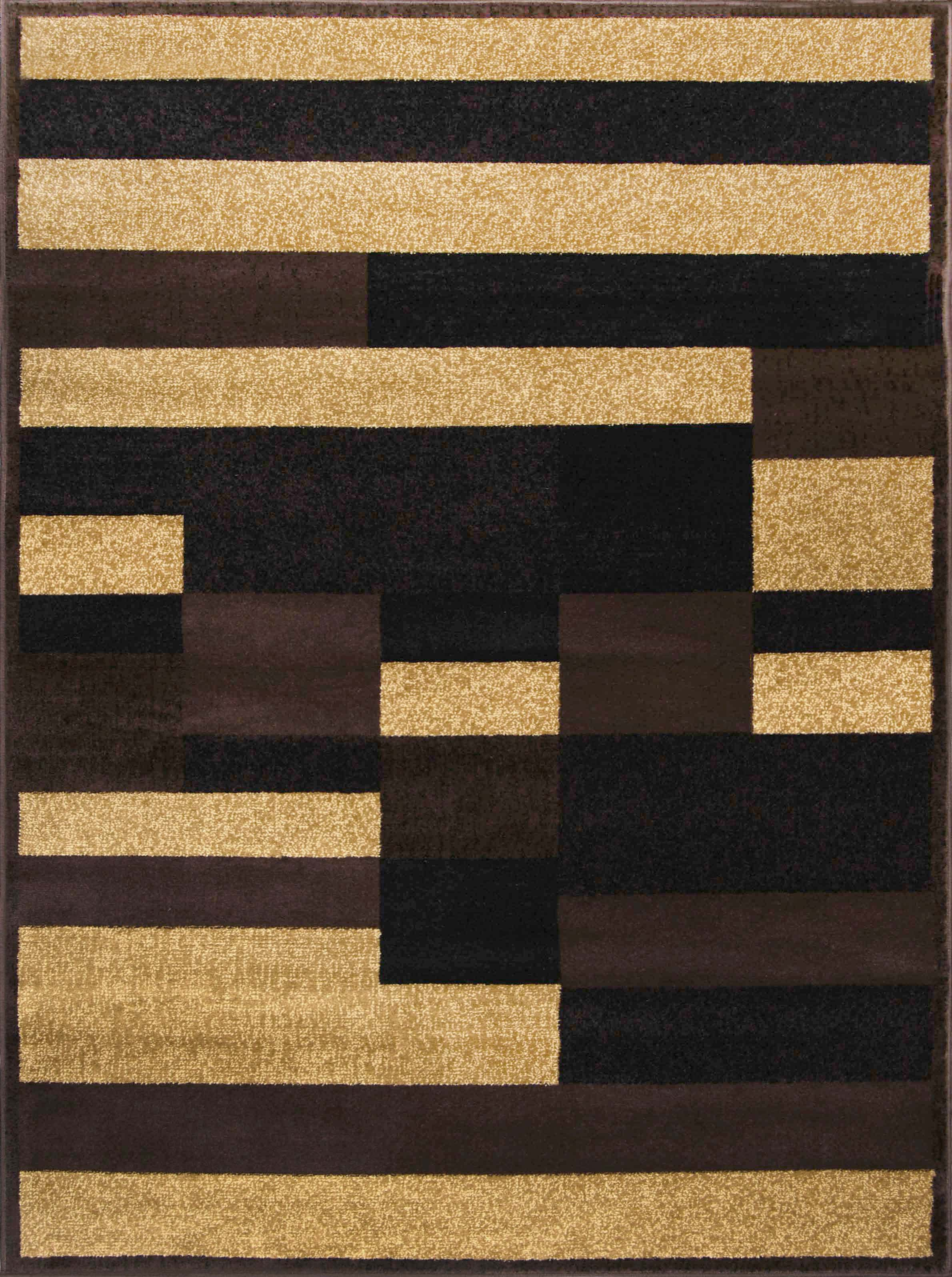 Royalty Rug-machine Woven  Brown-beige Area Rugs