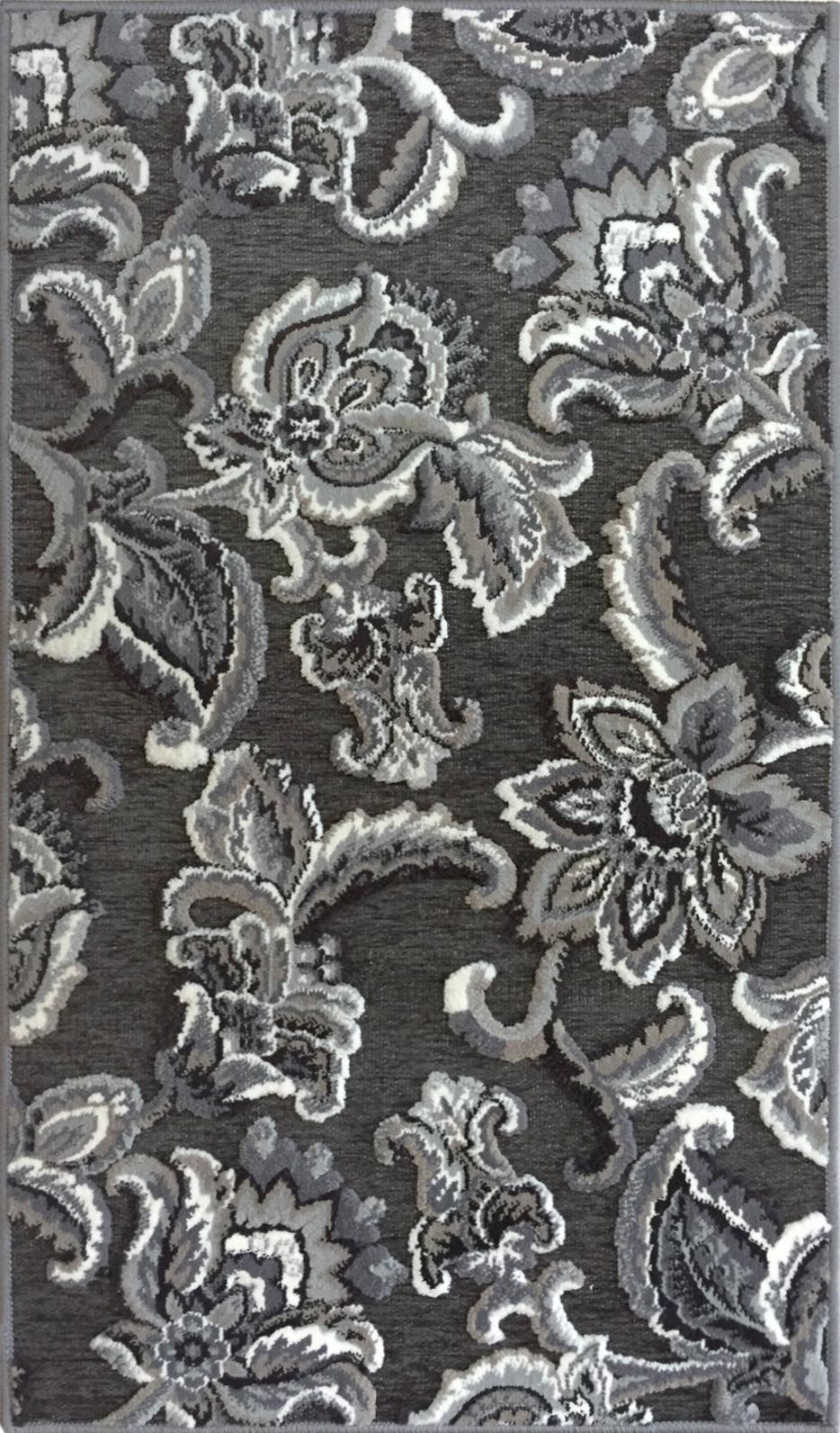 Airrington Mat-machine Woven  Gray Area Rugs