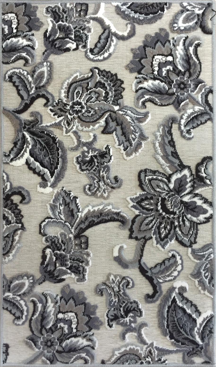 Airrington Mat Machine Woven  Ivory Area Rugs