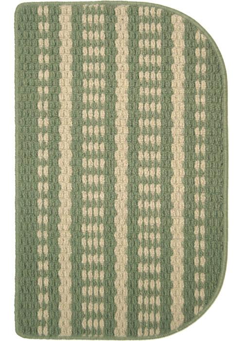 Hudson Mat Machine Tufted   Sage Beige Area Rugs