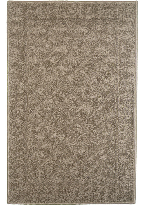 Latrice Mat Machine Tufted   Tan Area Rugs