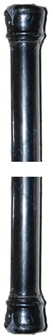 Standard Spring Tension Rod Colors  Black