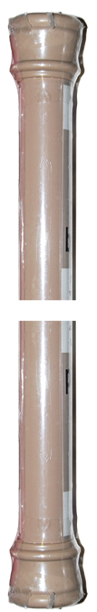 Standard Spring Tension Rod Colors  Taupe