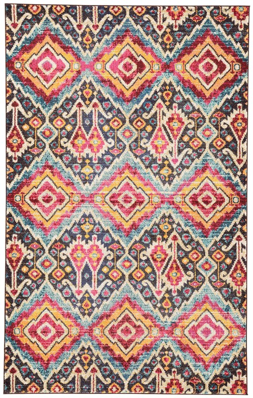 Jaipur Living Rex Ikat Multicolor Area Rug
