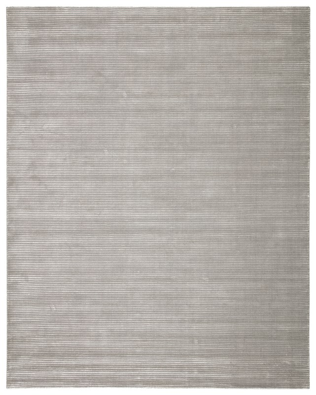 Jaipur Living Basis Handmade Solid Gray/ Silver Area Rug