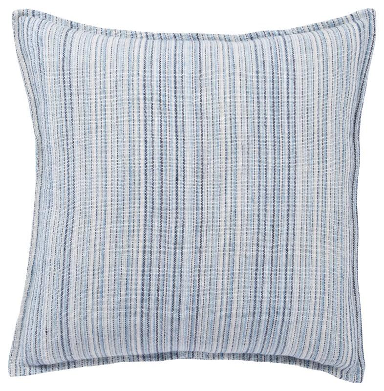 Jaipur Living Taye Stripe Blue/ White Poly Throw Pillow