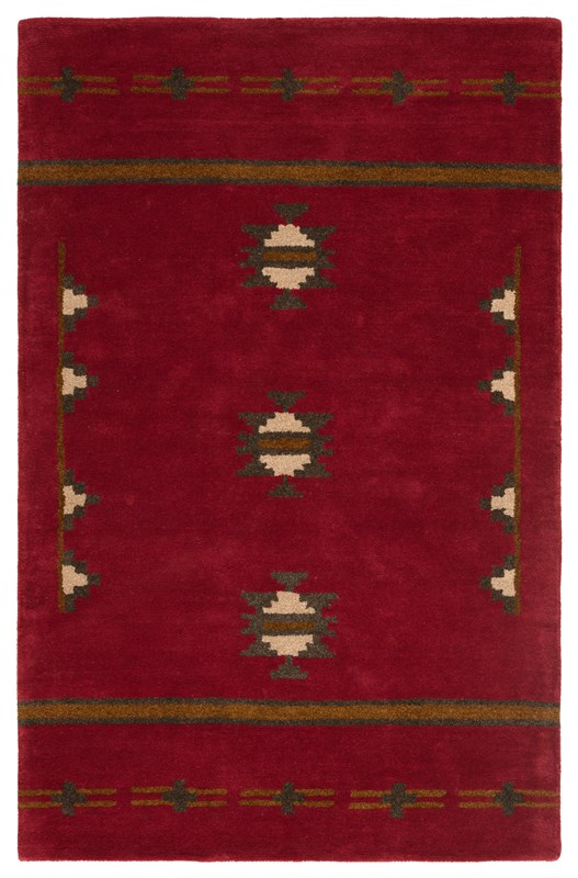 Jaipur Living Fir Handmade Medallion Red/ Gray Area Rug
