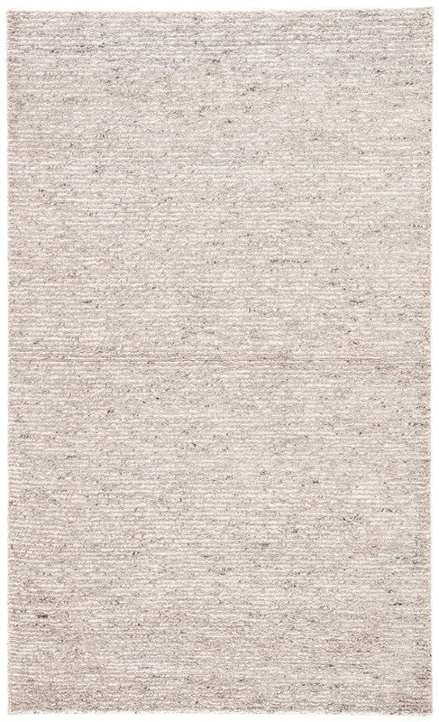 Jaipur Living Carvings Handmade Solid Gray/ Ivory Area Rug