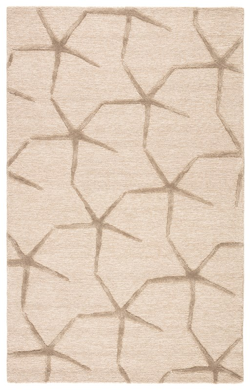 Jaipur Living Starfishing Handmade Animal Beige/ Gray Area Rug