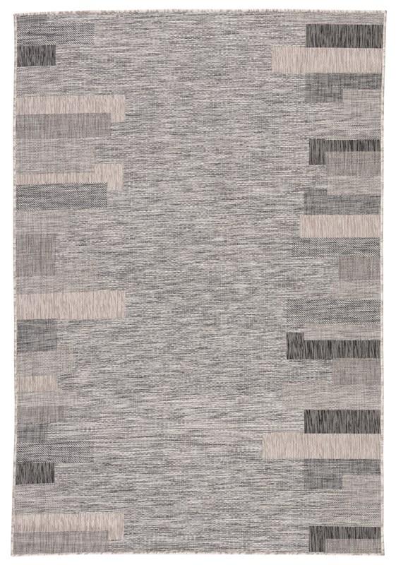 Nikki Chu By Jaipur Living Nikea Indoor/ Outdoor Geometric Gray Area Rug