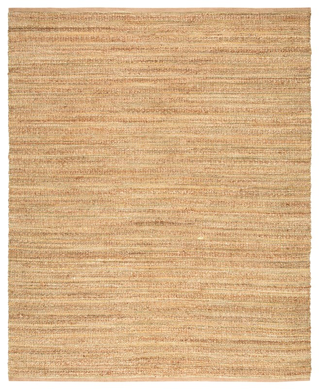 Jaipur Living Canterbury Natural Solid Beige/ Green Area Rug