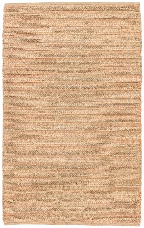 Jaipur Living Canterbury Natural Stripe Beige/ Red Area Rug